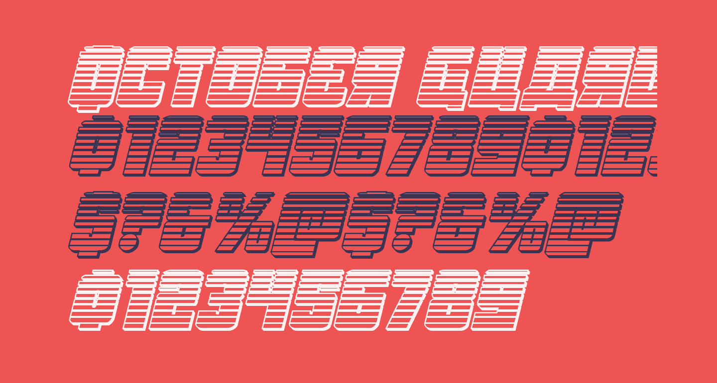 October Guard Chrome Italic