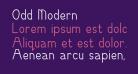 Odd Modern