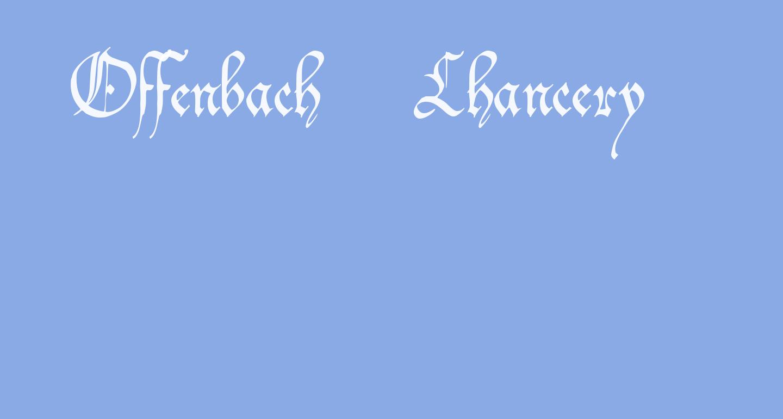 Offenbach Chancery