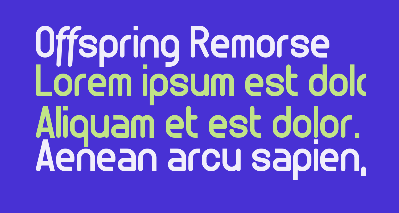 Offspring Remorse