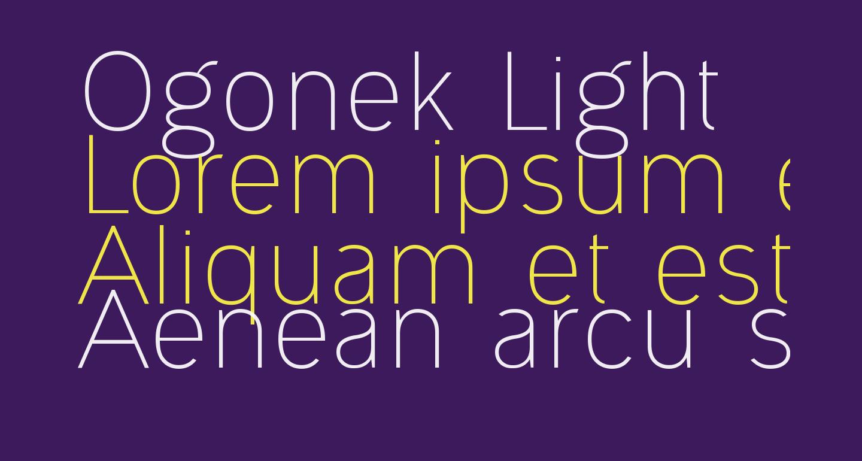 Ogonek Light
