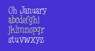 Oh January