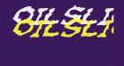 Oilslick Italic