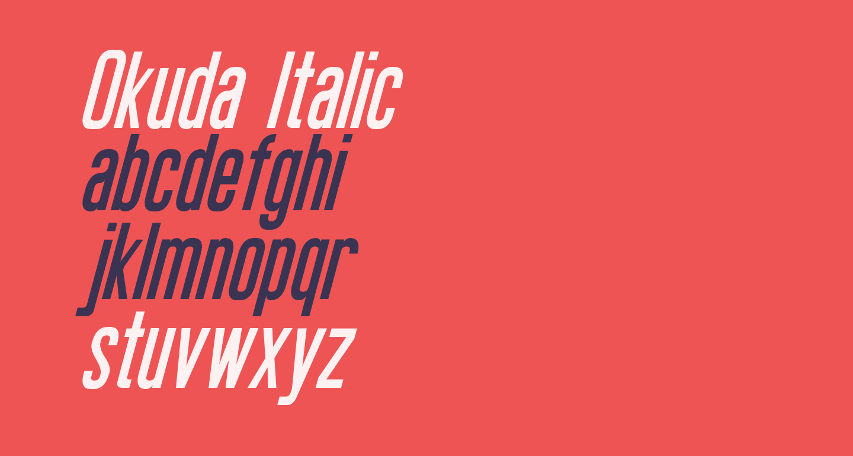 Okuda Italic