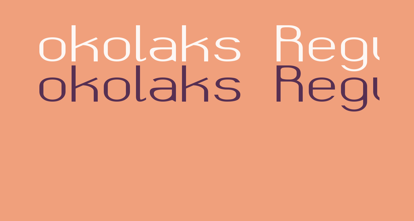 okolaks Regular