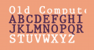 Old Computer Manual Monospaced