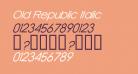Old Republic Italic