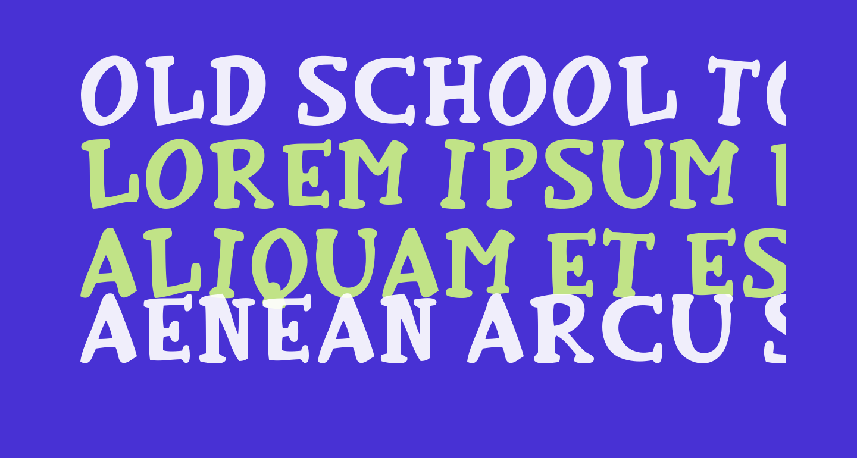 Old School Toons