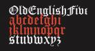 OldEnglishFiveOpti