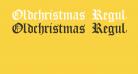 Oldchristmas Regular