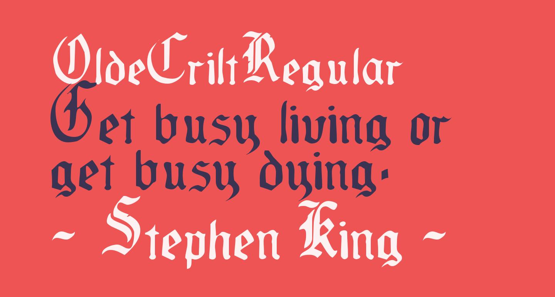 OldeCriltRegular