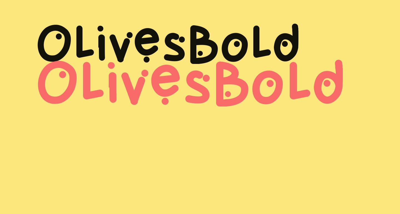 OlivesBold