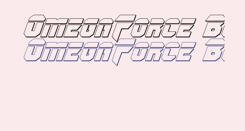OmegaForce Bullet Italic