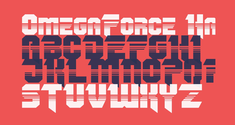 OmegaForce Halftone Regular