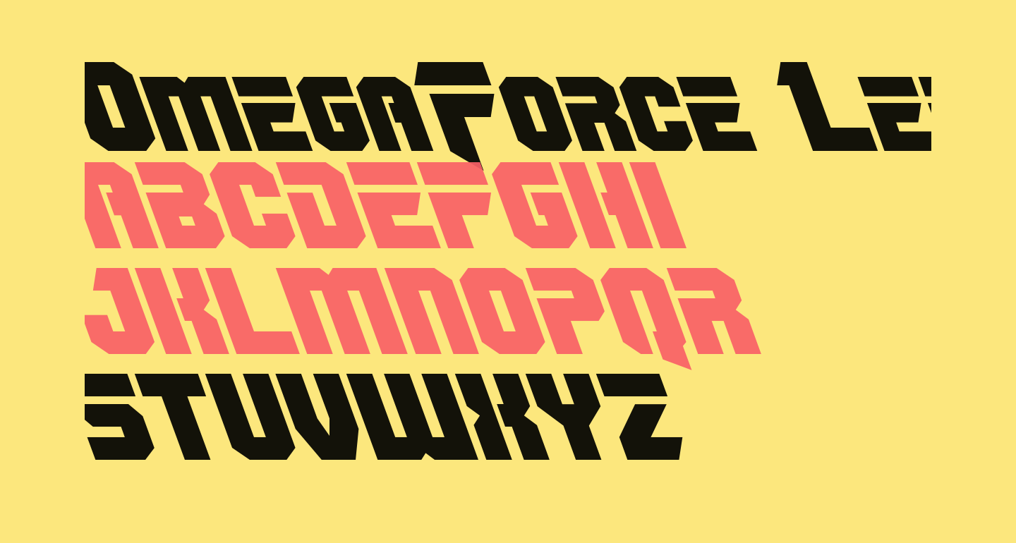 OmegaForce Leftalic