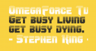 OmegaForce Twotone Regular