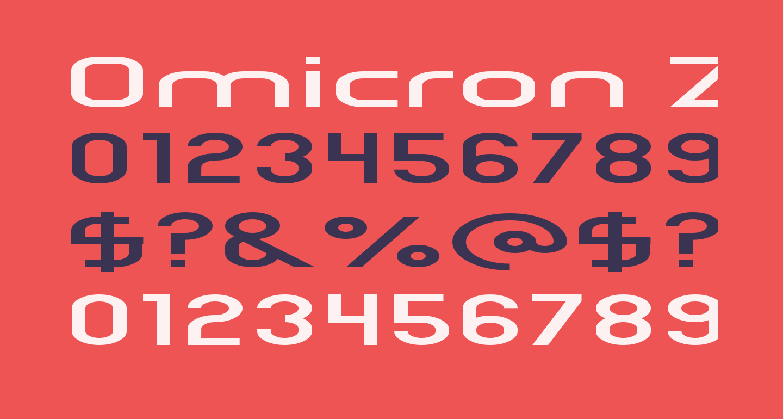 Omicron Zeta Pressed
