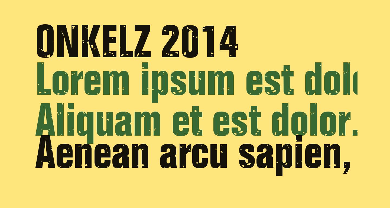 ONKELZ 2014