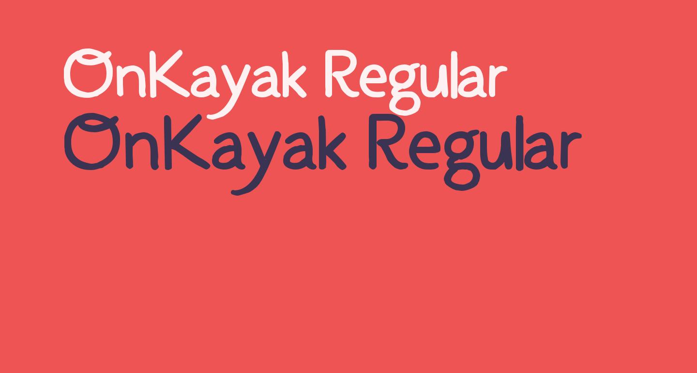 OnKayak-Regular