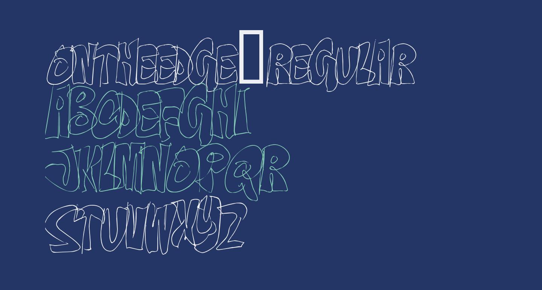 OnTheEdge-Regular