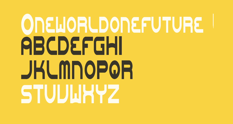 Oneworldonefuture Light