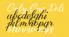 Only One Dollar Demo Bold Italic