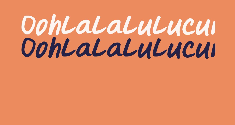 Oohlalalulucurvy