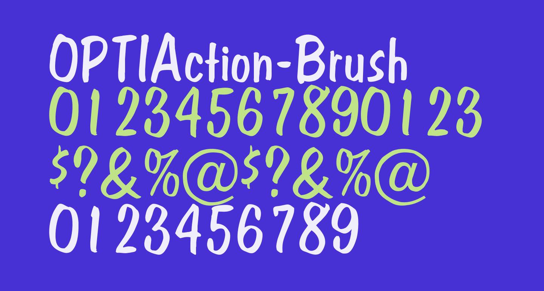 OPTIAction-Brush