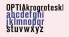 OPTIAkrogroteskBold-Cond
