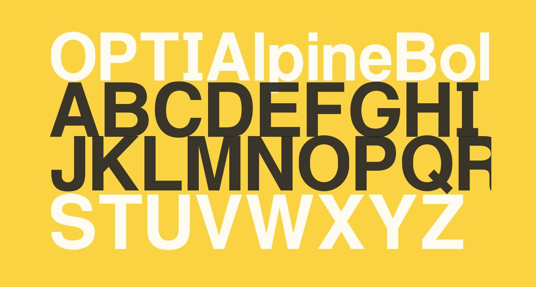 OPTIAlpineBold-Primer