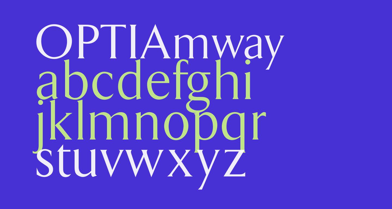 OPTIAmway