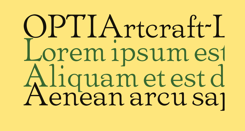 OPTIArtcraft-LightC