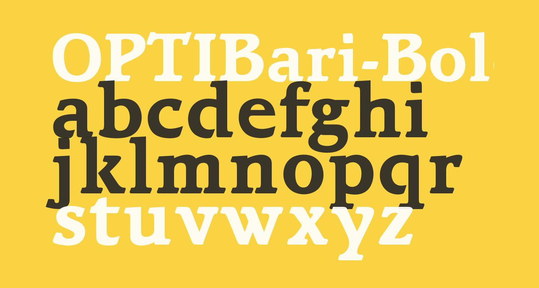 OPTIBari-Bold