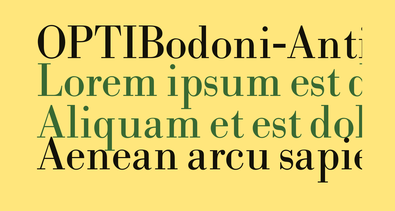 OPTIBodoni-Antiqua