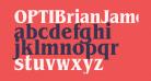 OPTIBrianJamesBoldCond