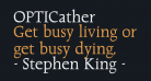 OPTICather