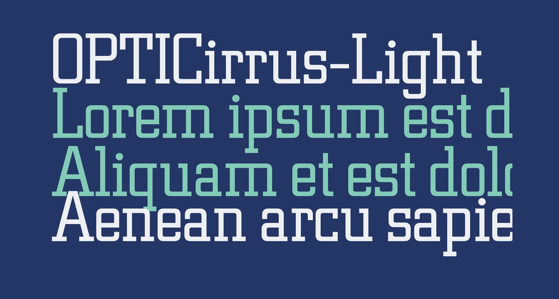 OPTICirrus-Light
