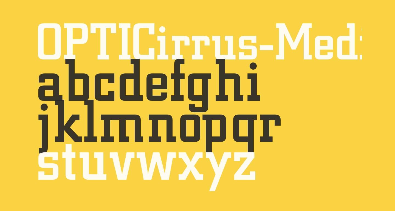 OPTICirrus-Medium
