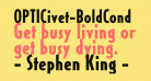 OPTICivet-BoldCond