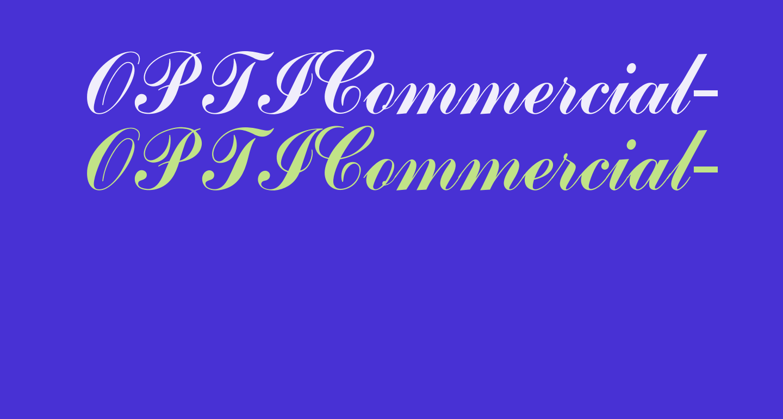 OPTICommercial-Script