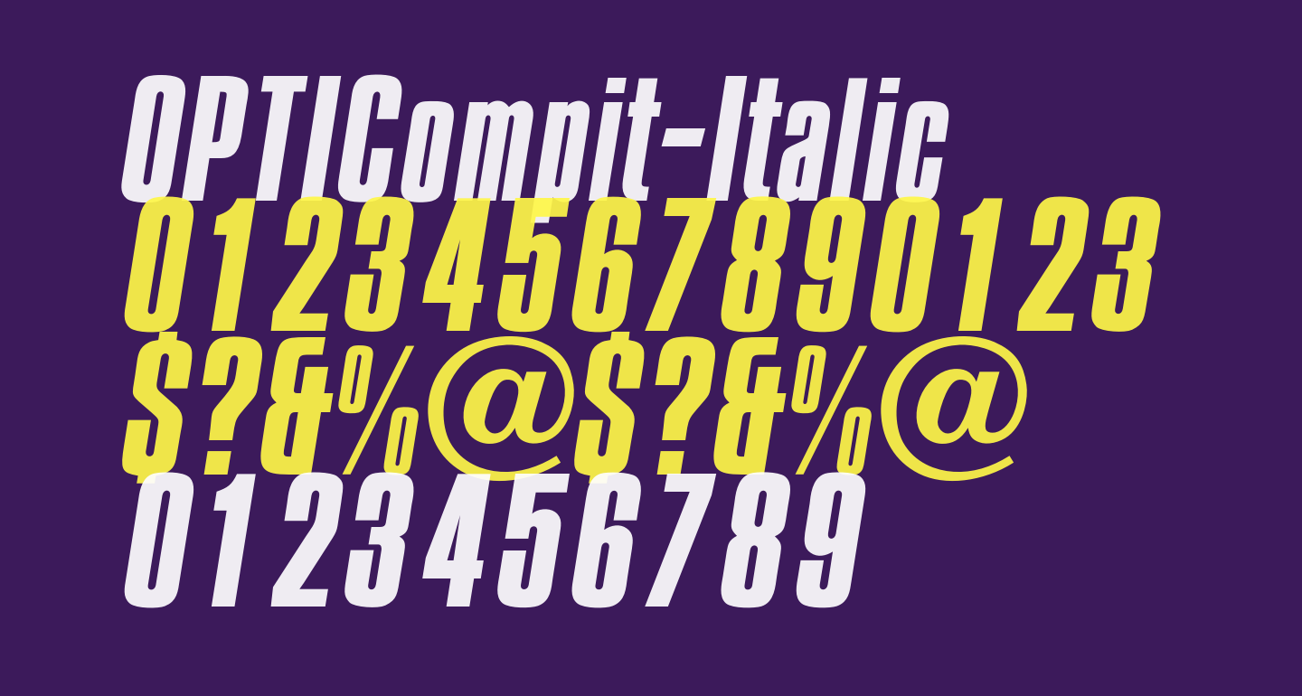 OPTICompit-Italic