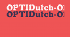 OPTIDutch-Oldstyle