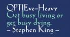 OPTIEve-Heavy