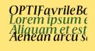OPTIFavrileBold-Italic