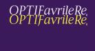 OPTIFavrileRegular-Italic