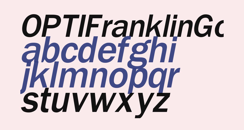 OPTIFranklinGothic-MediumItal