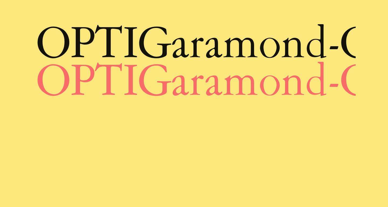 OPTIGaramond-Oldstyle