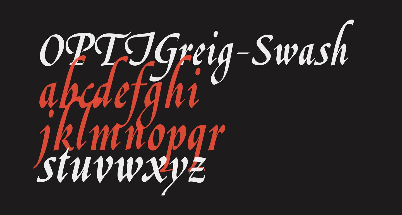 OPTIGreig-Swash