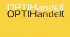 OPTIHandelGothic-Light