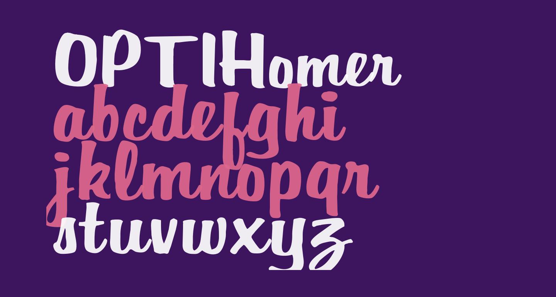 OPTIHomer